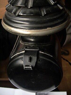 Lanterna a GAS da Carrozza Original trasformata in AbatJour  a Muro Antiquariato 11
