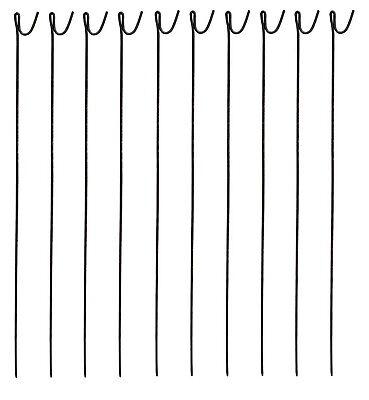 PLASTIC MESH BARRIER SAFETY FENCE Metal Steel Fencing Pins Netting Net Orange 1m 6