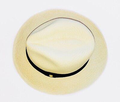 🥇NEW GENUINE MONTECRISTI Panama Hat Rollable Handmade Ecuador Travel Tube  Uk