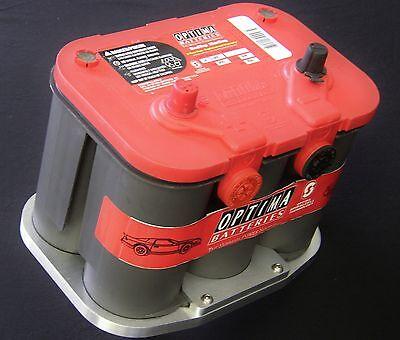 34//78 BHD Billet aluminum Optima Battery Bottom Hold Down Tray Bracket Hot Rod