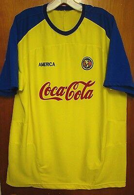 55a35a9dcae ... CLUB AMERICA Mexico City soccer jersey Las Aguilas logo futbol XL shirt  Liga MX 2