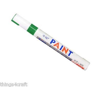 Paint Pen Marker UK Supplier Many Colours Car Tyre Tire Metal Permanent Pens 6