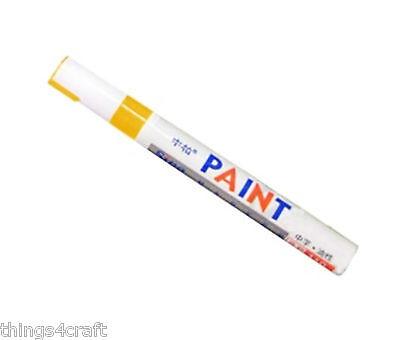 Paint Pen Marker UK Supplier Many Colours Car Tyre Tire Metal Permanent Pens 5