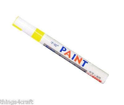 Paint Pen Marker UK Supplier Many Colours Car Tyre Tire Metal Permanent Pens 10