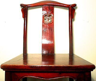 Antique Chinese High Back Chairs (5639) (Pair), Circa 1800-1849 3