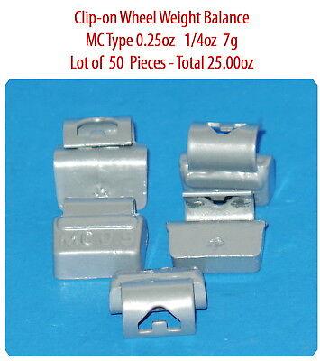 Assort 300 Pc Clip-on Wheel Weight Balance Type MC 0.25 0.50 0.75 1.0 1.25 1.50z 3