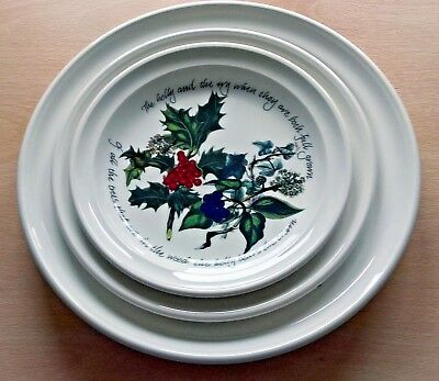 Portmeirion The Holly And The Ivy Tableware - Various - Plates - Bowls New 3