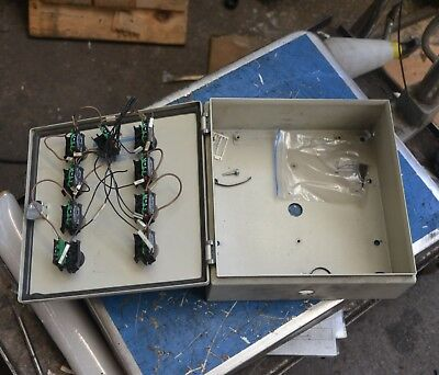 Rittal Cabinet Enclosure 30 X 30 X 12cm key switches 3