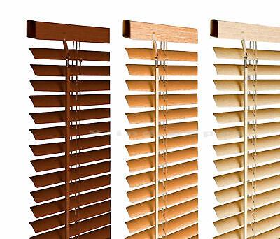 Venetian Blinds in PVC Plain Colours or Wood Grain Effect 2