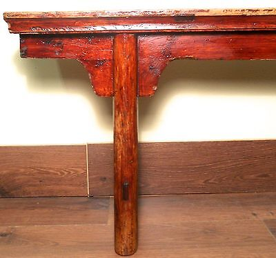 Antique Chinese Ming Bench (3273), Cypress Wood, Circa 1800-1849 9