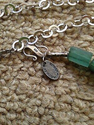 Antique Roman Glass Necklace 6