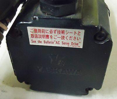 Yaskawa Electric Ac Servo Motor Type/model# Usasem-02Fj23  011,154W S/n 1L628L-1 5