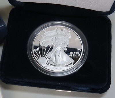 2019-W AMERICAN SILVER EAGLE PROOF w/BOX+COA BRAND NEW ~ ON HAND READY TO SHIP! 5