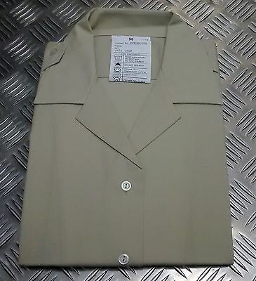 Men's Clothing Genuine British Army All Ranks No2 Dress Shirt Or Blouse Fawn Womans New Dress Shirts