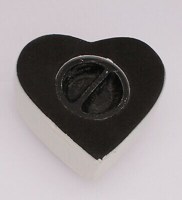 Mini Cremation Urn For Ashes Funeral Memorial Small Blue Heart Keepsake & box 3
