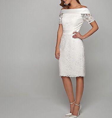 APART Brautkleid Standesamt Etuikleid Damenkleid Hochzeit creme 59334