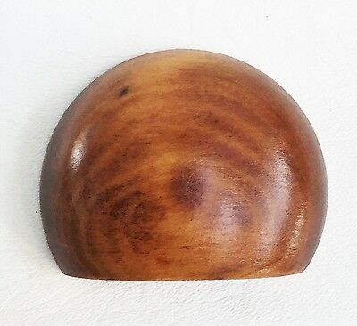 Cherry Antique Hardware Bin Pull Vintage Wood Art Deco Drawer Pull Knob Maple 2 • CAD $233.10
