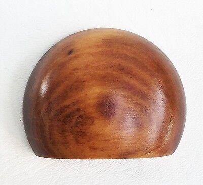 Cherry Antique Hardware Bin Pull Vintage Wood Art Deco Drawer Pull Knob Maple 2