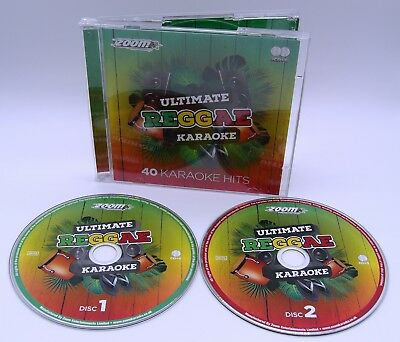 Karaoke Cdgs, Dvds & Media Zoom Karaoke Cdg Ultimate Reggae Hits Vol 2-40 Classic Tracks On 2 Cd+g Discs