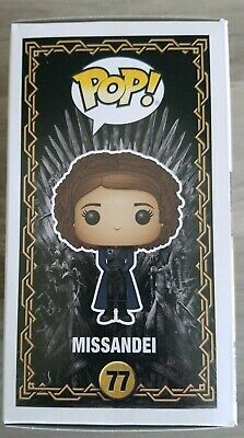 Funko Pop Game Of Thrones MISSANDEI! NYCC 2019 Shared Exclusive! New In Hand! 77 2