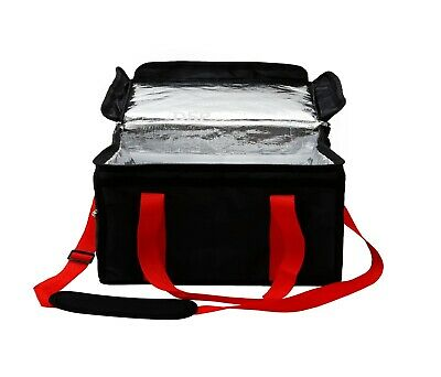 Extra Large Foil Insulated Heavy Duty Food Takeaway Delivery Bag Size18x13x13inc 9