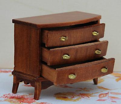 Puppenstube Kommode Holz mit 3 Schubladen !!! 70er Jahre !!! Mit OVP !!! Nr. 41