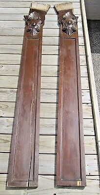 Antique Victorian Hardwood Rococo Architectural Archway Monumental Very Ornate 11