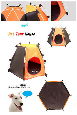 Portable Pet Tent Puppy Dog Pet Cat Outdoor Camping Sun Shelter Waterproof House 7