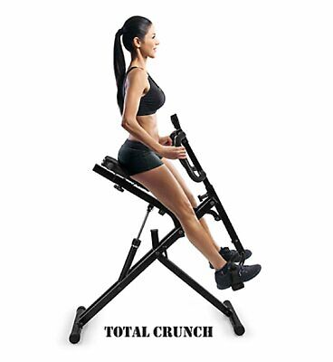 Power Rider Total Crunch AB Crunch Body Fitness Exercise Squat Cardio Workout 4