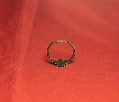 Medieval Seal Ring - Bird Seal, 12. Century 5