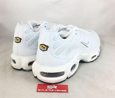 bbcf087f5b ... New NIKE AIR MAX PLUS TN White Cool Gray Tuned Air Shoes 604133-139 c1
