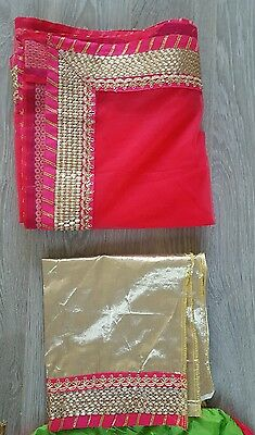 Indian Party Wear Bollywood Anarkali Lengha choli with blouse pice. 4