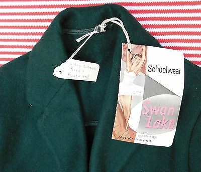 Vintage 1950s blazer green UNUSED girls school uniform Swan Lake Arthur Howard 2