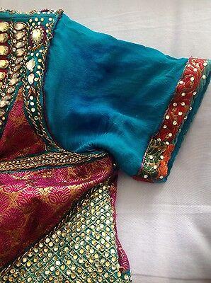 Pakistani Indian Party Anarkali Designer Dress 7