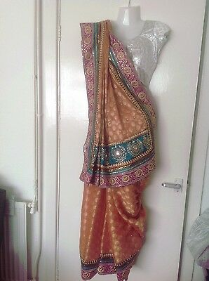 Ladies Indian saree 7