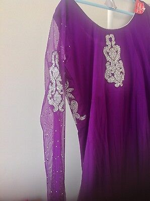 Pakistani Salwar kameez Indian Party Anarkali Designer Dress 7
