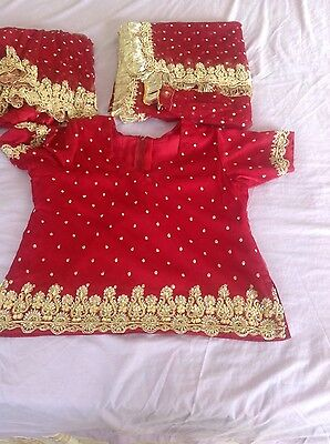 Indian Pakistani Wedding Lengha Anarkali With Blouse Skirt 4