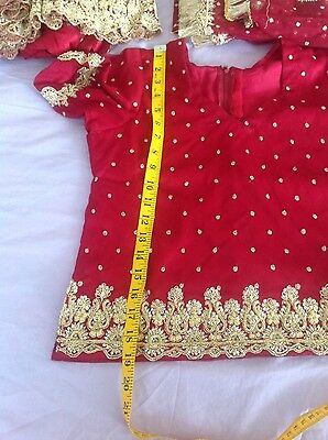 Indian Pakistani Wedding Lengha Anarkali With Blouse Skirt 6