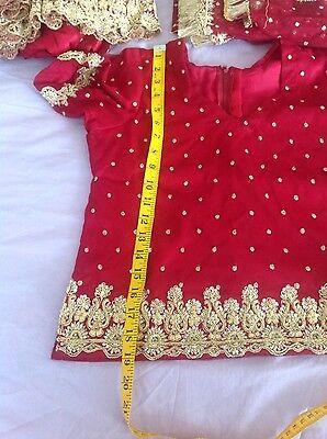 Indian Pakistani Wedding Lengha Anarkali With Blouse Skirt 6