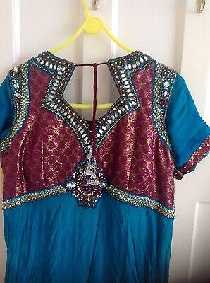 Pakistani Indian Party Anarkali Designer Dress 3