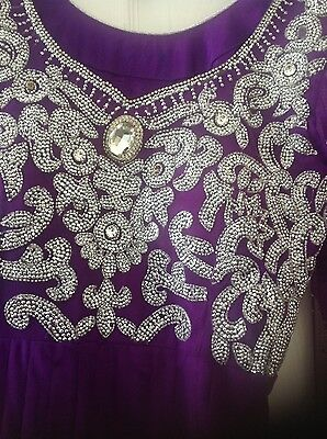 Pakistani Salwar kameez Indian Party Anarkali Designer Dress 2