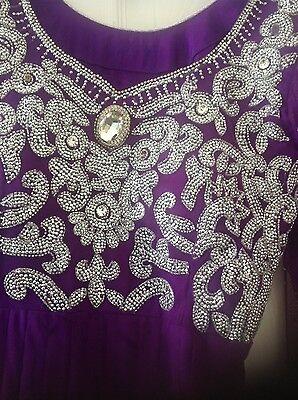 Pakistani Salwar kameez Indian Party Anarkali Designer Dress 2