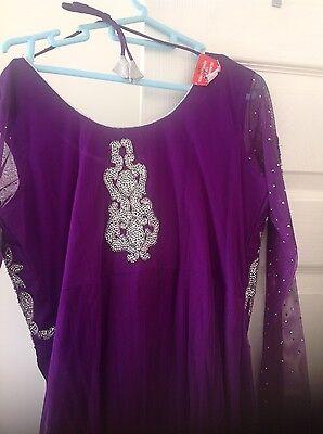 Pakistani Salwar kameez Indian Party Anarkali Designer Dress 3