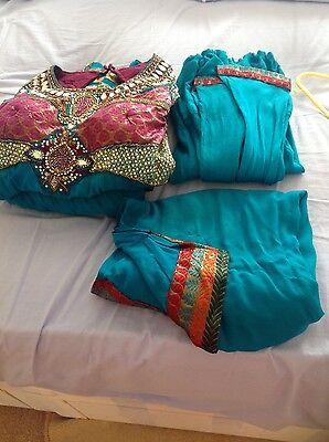 Pakistani Indian Party Anarkali Designer Dress 6