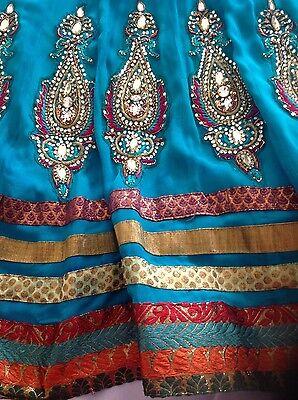 Pakistani Indian Party Anarkali Designer Dress 5