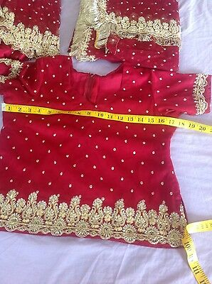 Indian Pakistani Wedding Lengha Anarkali With Blouse Skirt 5