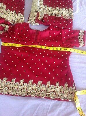 Indian Pakistani Wedding Lengha Anarkali With Blouse Skirt 5