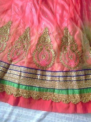 Ladies Indian lengha 2