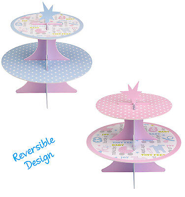 Tiny Feet Baby Shower Cupcake Stand