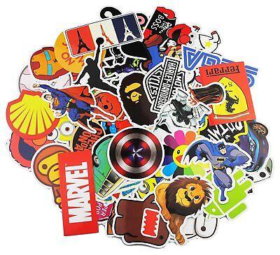 100 Stickers Vinyl Laptop Luggage  Helmet Skateboard Decals 3